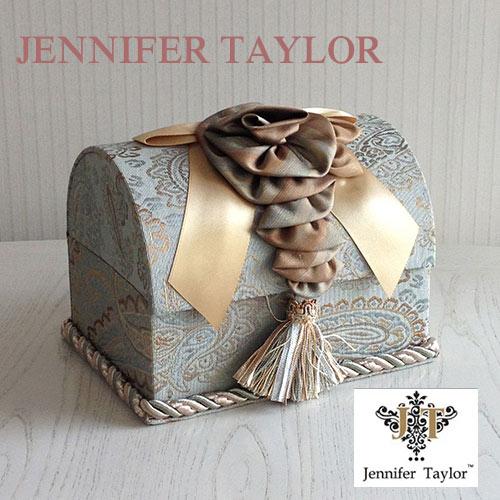 【ポイント5倍 5月】ジェニファーテイラー Jennifer Taylor トランク型ボックスLカルトナージュ(SAVANNAH)
