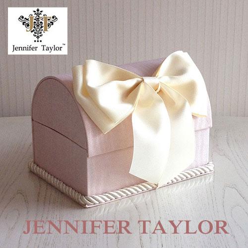 【ポイント5倍 5月】ジェニファーテイラー Jennifer Taylor トランクBOX-Chinon(PK)・Ribon