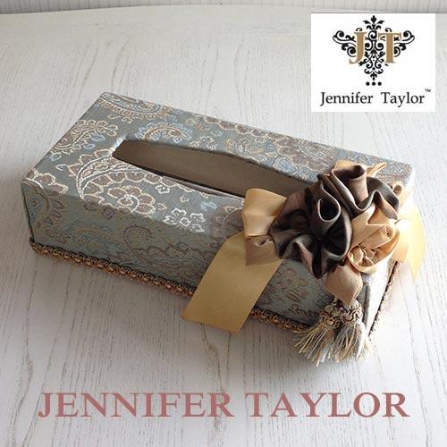 【ポイント5倍 5月】ジェニファーテイラー Jennifer Taylor ティッシュBOX・SAVANNAH