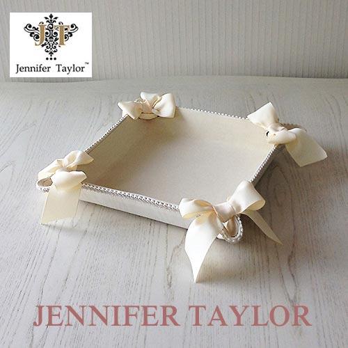 【ポイント5倍 5月】ジェニファーテイラー Jennifer Taylor トレイ・Chinon(WH)