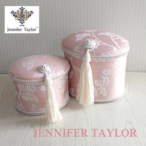 【ポイント5倍 5月】ジェニファーテイラー Jennifer Taylor オーバルBOX2P・Harmonia