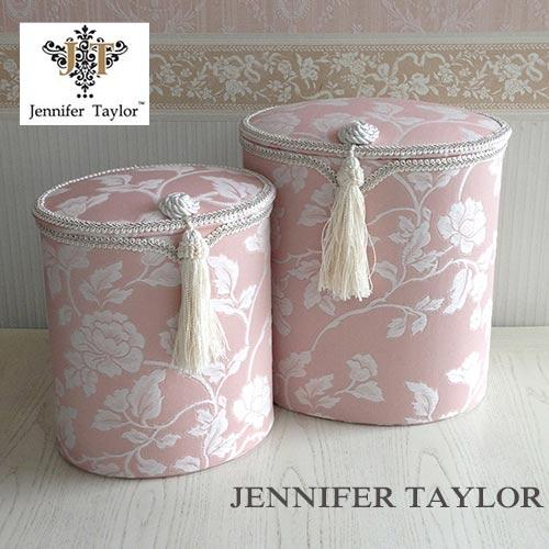 【ポイント5倍 5月】ジェニファーテイラー Jennifer Taylor 蓋付きダストボックス2P・Harmonia