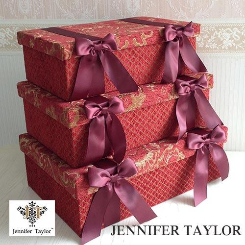 【ポイント5倍 5月】【送料無料】ジェニファーテイラー Jennifer Taylor BOX3Pセット・Bacara