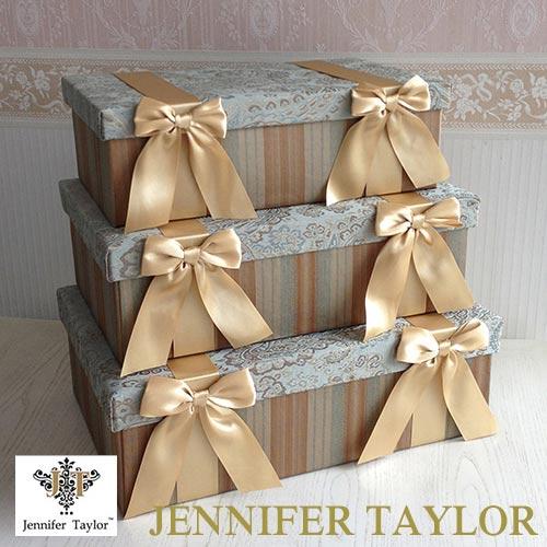 【ポイント5倍 5月】【送料無料】ジェニファーテイラー Jennifer Taylor BOX3Pセット・SAVANNAH
