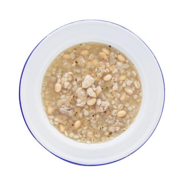 豆と押麦の満腹スープ