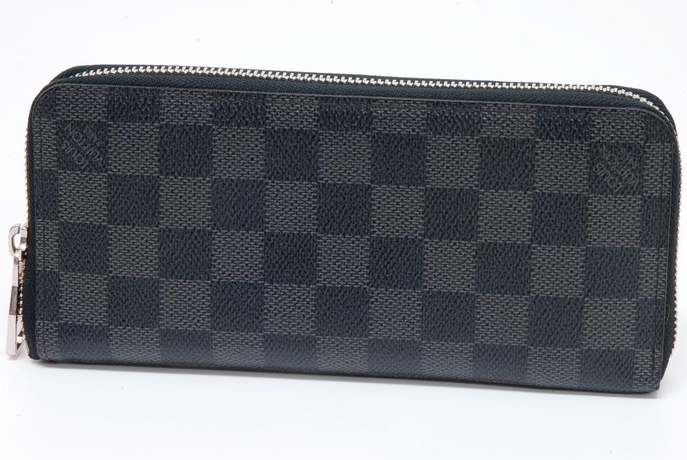 ヴィトン ダミエ グラフィット ジッピーウォレット 財布 N63095