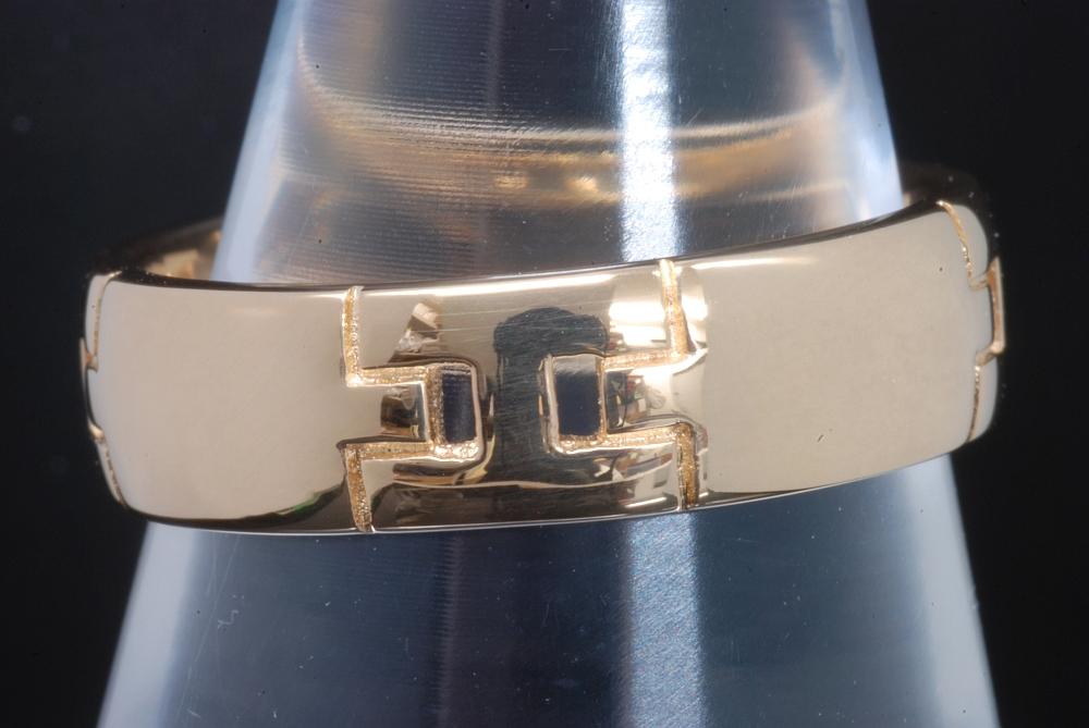 エルメス HERMES ヘラクレス リング K18YG #13 指輪【美品】