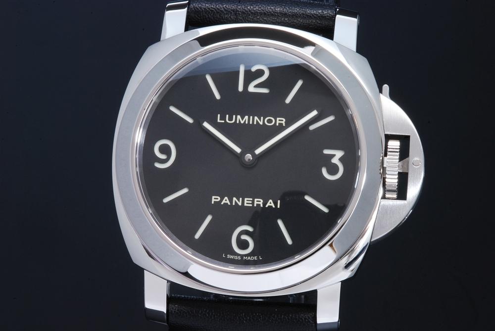 パネライ ルミノールベース PAM00112 44mm 手巻 R番 メンズ【正規・美品】