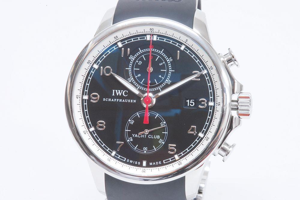 IWC ポルトギーゼ ヨットクラブ IW390204 クロノグラフ【正規】
