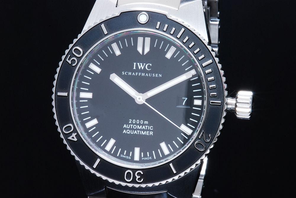 IWC GSTアクアタイマー IW353602 SS/SS 黒 【正規品】