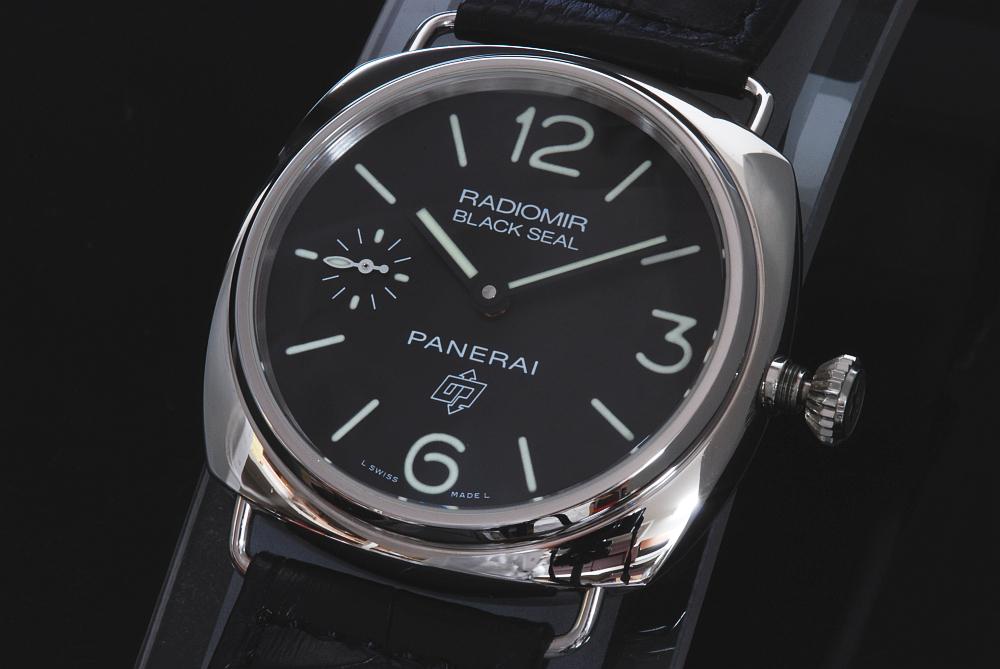 パネライ PAM00380 ラジオミール ブラックシール ロゴ 手巻