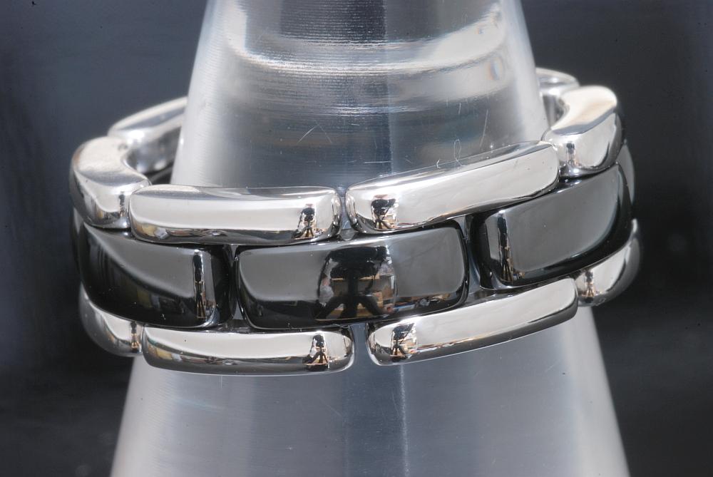 シャネル ウルトラコレクションリング J2636 ミディアム K18WG