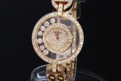 ショパール ハッピーダイヤモンド 20/4539 K18YG オールダイヤ