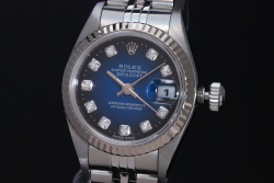 ロレックス 79174G デイトジャスト ダイヤ ブルーグラデ