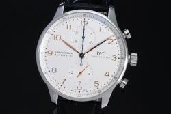 IWC IW371445 ポルトギーゼ クロノグラフ 【正規・美品】