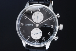 IWC IW371404 ポルトギーゼ クロノグラフ オートマ 黒