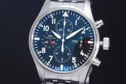 IWC IW377704 パイロット ウォッチ クロノグラフ SSオートマ【正規品・美品】