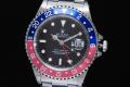 ロレックス 16700 GMTマスター1 赤青ベゼル U番 【OH済】