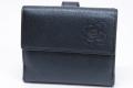 シャネル カメリア ココマーク Wホック二つ折財布 A46507