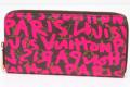 ヴィトン グラフィティ ジッピーウォレット M93710 フューシャ