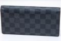 ヴィトン ダミエ グラフィット ブラザ ファスナー付長財布 N62665