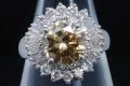 PT900 ダイヤモンド2.243ct(FBY-I1) 0.88ct リング 指輪