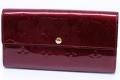 ヴィトン モノグラム ヴェルニ ポルトフォイユ サラ 二つ折り長財布 ルージュフォーヴィスト M93577