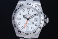 ロレックス 216570 エクスプローラー2 ホワイト ランダム GMT メンズ 白文字盤【美品】