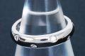 ティファニー PT950 ダイヤ ドッツ バンドリング プラチナ ダイヤモンド リング 指輪 #8.5【美品】