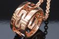 ブルガリ パレンテシ ペンダント ネックレス K18PG CL855212