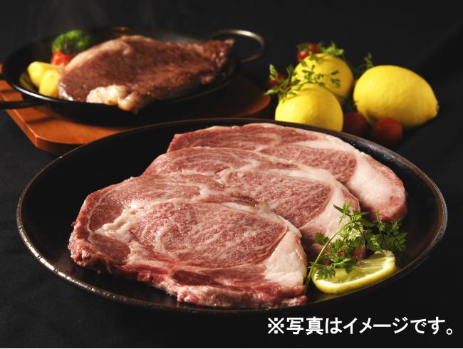 宮崎牛ロースステーキ600gセット(200g×3枚)
