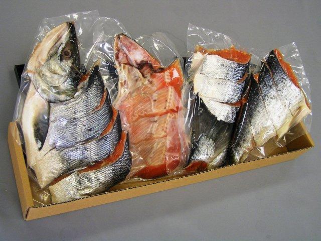 オホーツク海産 新巻鮭