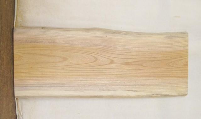 【送料・手数料無料】 山成林業 小型無垢一枚板 KD-427 ケヤキ 小型看板に最適