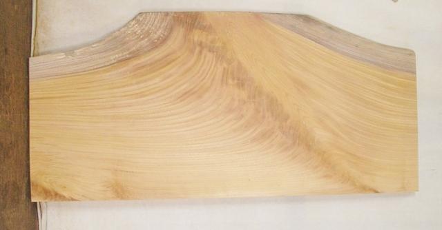 【送料・手数料無料】 山成林業 中型無垢一枚板 KC-423 ケヤキ看板に最適