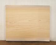 【送料・手数料無料】 山成林業 小型無垢一枚板 KD−375 ケヤキ 小型看板に最適