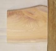 【送料・手数料無料】 山成林業 特小無垢一枚板 KE-379 ケヤキ看板に最適