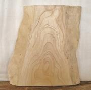 【送料・手数料無料】 山成林業 特小無垢一枚板 KE-404 ケヤキ看板に最適