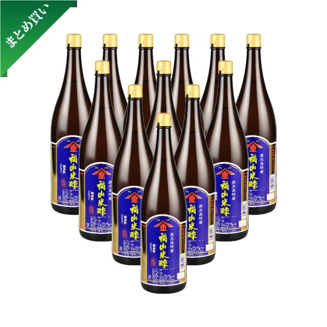 【まとめ買い】福山米酢 赤印 1800ml 12本セット