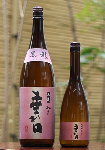 【28BY新酒】黒龍(こくりゅう) 純米吟醸 垂れ口(たれくち) 薄にごり生原酒 1800ml