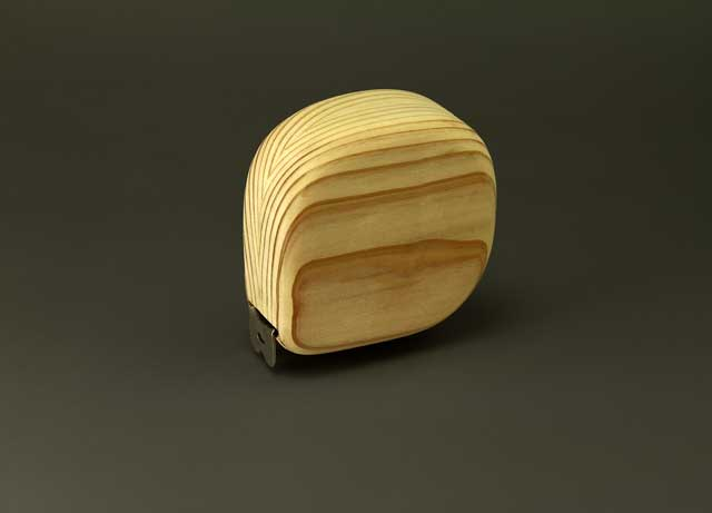 木の巻尺杉