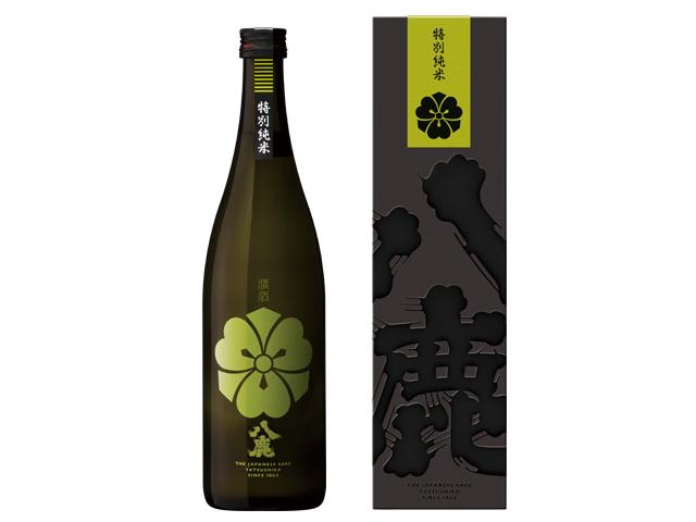 コクの、八鹿 【八鹿特別純米(緑)《カートン入》】 720ml