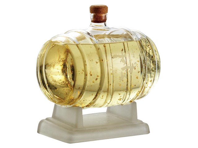 完全生産限定 【銀座のすずめ琥珀 樽型ボトル】 25度 900ml