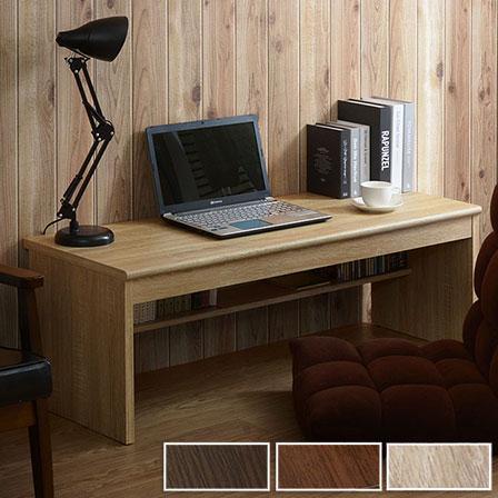 デスク 幅120cm 棚 スリムデスク パソコンデスク パソコン 机