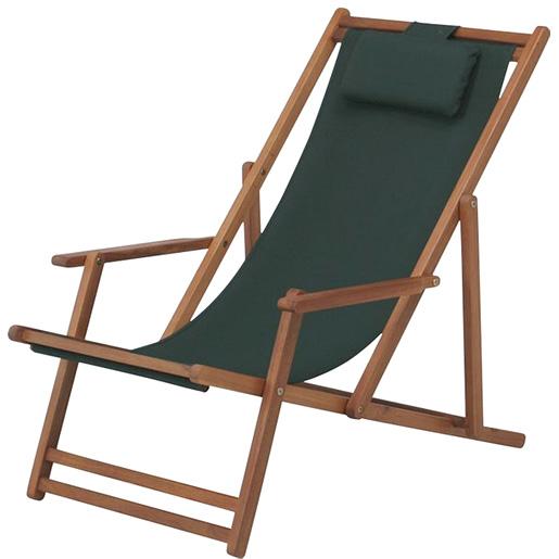 木製 折りたたみ可能 デッキチェアー ガーデン ガーデニング レジャー