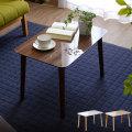 送料無料 テーブル 幅60cm 北欧 ローテーブル コーヒーテーブル リビングテーブル 木製 ナイトテーブル カフェ風 センターテーブル おしゃれ モダン シンプル ブラウン ホワイト ナチュラル アウトレット ミッドセンチュリー デザイン カフェテーブル 脚高 トールテーブル