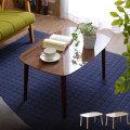 送料無料 テーブル 幅75cm 北欧 ローテーブル コーヒーテーブル リビングテーブル 木製 ナイトテーブル カフェ風 センターテーブル おしゃれ モダン シンプル ブラウン ホワイト ナチュラル アウトレット ミッドセンチュリー デザイン カフェテーブル 脚高 トールテーブル