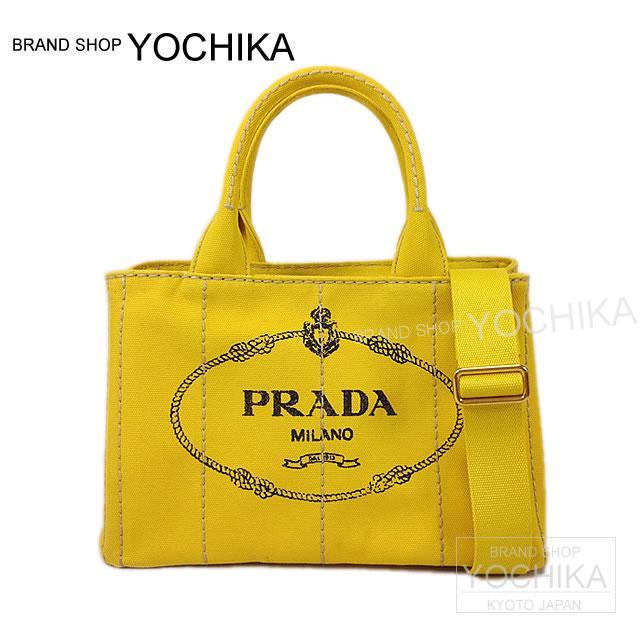 PRADA プラダ CANAPA カナパ ミニ 2WAY ショルダートートバッグ ストラップ付 ロッソレッド 1BG439 新品