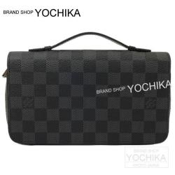 "LOUIS VUITTON ルイ・ヴィトン ""ジッピー XL""  セカンドバッグ 財布 グラフィット N41503 新品"