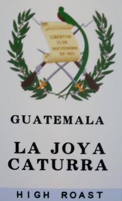 グアテマラ ラ ホヤ カトゥーラ(中浅炒り・ハイロースト) コーヒー豆
