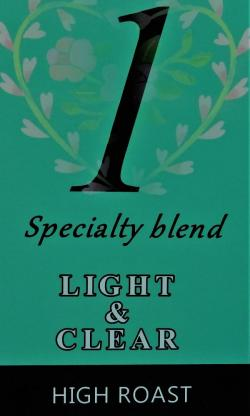 ブレンド『ライト&クリア』(ハイロースト=中浅煎り) コーヒー豆